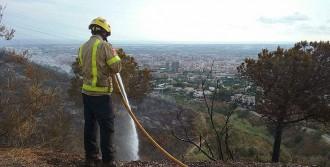 Controlat l'incendi de Collserola després de cremar deu hectàrees