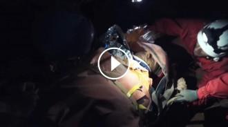 El rescat de la cova de Cuberes, a «Emergències» de TV3