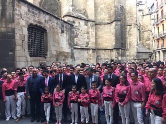 Vés a: Els Xiquets de Hangzhou, de la Xina, rebuts per les autoritats a Barcelona i a Valls