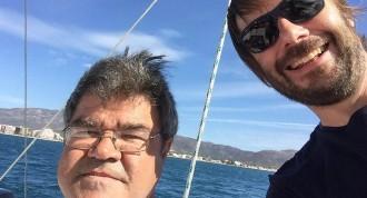 Vés a: Quim Masferrer fa les primeres milles amb el catamarà d'en Pepe