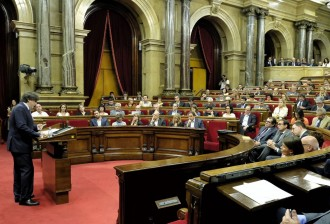 Vés a: «O s'aproven els pressupostos que enllesteix Junqueras o convocaré eleccions»: Puigdemont en 10 frases
