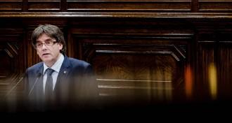 Vés a: Puigdemont: «Referèndum o referèndum»