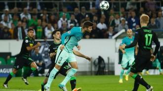 Vés a: El Barça remunta i venç el Borussia Mönchengladbach (1-2)