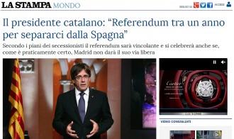 Vés a: La premsa internacional destaca que Puigdemont anuncia un referèndum el 2017