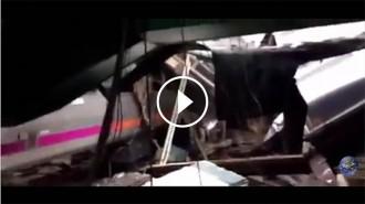 Vés a: Almenys un mort i desenes de ferits en el descarrilament d'un tren a Nova Jersey