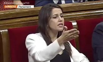 Vés a: VÍDEO Arrimadas perd els nervis al Parlament