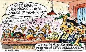 ...jornades d'intercanvi comercial al País Basc!!!