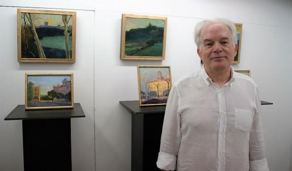 El pintor solsoní Ramon Àngel Davins exposa Quadres de Quadres