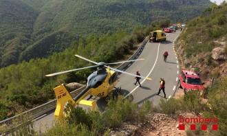 Vés a: Rescaten amb gruatge una excursionista ferida a Montserrat