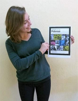 Anna Montraveta, de l'Escola Arrels, fa un «Zoom a la pobresa»
