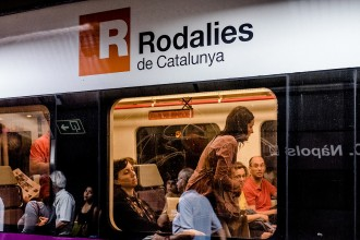 Vés a: Retards a Rodalies que poden superar els 40 minuts per una incidència a Castelldefels