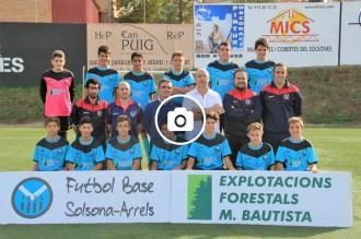 Galeria d'imatges de la presentació del Futbol Base Solsona Arrels