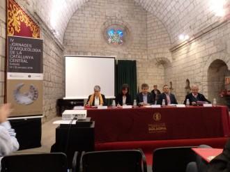 Èxit d'assistència i seguiment en les IV Jornades d'Arqueologia de la Catalunya Central.