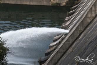 L'ACA ha posat a prova la presa de Sant Ponç per comprovar el seu correcte funcionament