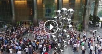 Vés a: VÍDEO Yahoo dedica un vídeo gravat amb drone als Minyons de Terrassa