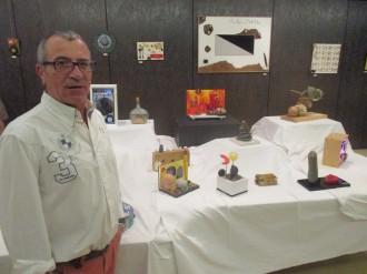 L'artista ponsicà Joan Calvet mostra a Solsona les seves obres