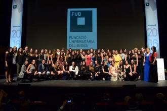El Kursaal acull la  graduació dels 316 nous titulats d'UManresa-FUB