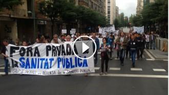 Vés a: Més de 500 persones defensen la Sanitat Pública pels carrers de Tarragona