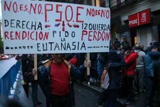 Vés a: El PSOE afronta l'última batalla per la investidura de Rajoy
