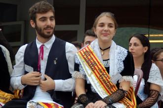Adrià Malagón de l'Empordà i Daria Ferrer de la Terra Alta són proclamats hereu i pubilla de Catalunya