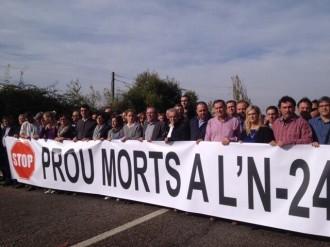 Vés a: «Prou Morts a l'N-240» vol organitzar una gran mobilització per pressionar Foment