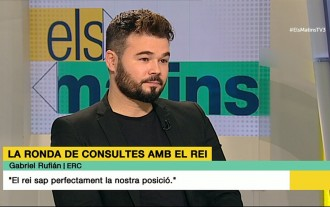 Vés a: Rufián creu que el PSOE votarà fins i tot els pressupostos de Rajoy