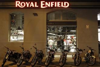 Vés a: Royal Enfield, el fabricant de motos més antic del món, obre la seva primera botiga a Barcelona