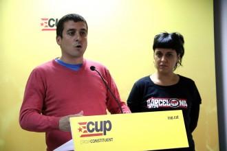 Vés a: La CUP critica que el Govern no aplica els acords entorn el referèndum