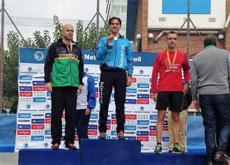Sancho Ayala, Campió de Catalunya M-45 de 10 km  ruta
