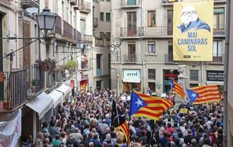 Vés a: «Mai caminaràs sol», suport unànime de l'independentisme a Joan Coma