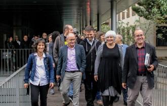 Vés a: Els regidors de Badalona que van desobeir el 12-O tornen als jutjats