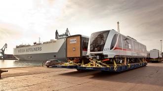 Vés a: La planta d'Alstom al Vallès Occidental fabrica 18 trens per al metro de Guadalajara, a Mèxic