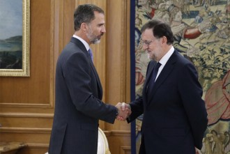 Vés a: Rajoy accepta l'encàrrec del rei de formar govern i aplaudeix la decisió  «responsable» del PSOE