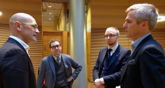 Vés a: Romeva garanteix la legalitat del procés des del parlament de Finlàndia