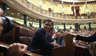 Vés a: Pedro Sánchez votarà «no» a Rajoy aquest dissabte i mantindrà l'escó al Congrés