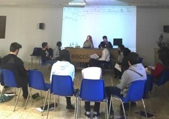 El projecte «Understanding Europe» arriba a l'Escola Arrels