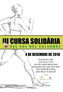 III Cursa Solidària del Sol delSolsonès