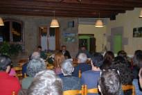 El Dr. Antoni Fernández presentà a Lladurs la seva darrera novel·la, El Topògraf de Napoleó