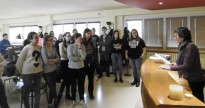 Visita de l'IES Francesc Ribalta a l'Arxiu Comarcal del Solsonès