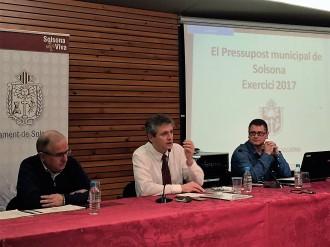 El govern de Solsona presenta a la població un pressupost «de continuïtat» de 8,7 milions d'euros