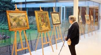 Una mostra pictòrica del solsoní Tomàs Boix a Lleida