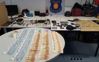 Ingressen a presó una banda criminal especialitzada en robatoris que va actuar al Pi de Sant Just