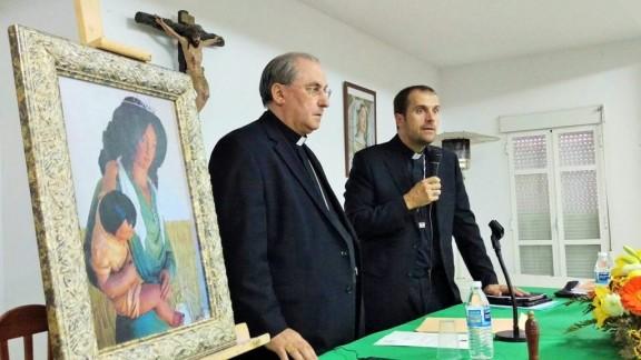 El Bisbe de Solsona ha presidit el romiatge gitano a Fregenal de la Sierra