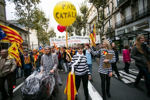 Manifestació «Sem Catalunya Nord, sem un país català. Volem decidir»