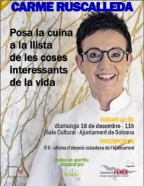 Carme Ruscalleda serà la protagonista de la conferència organitzada per Fènix