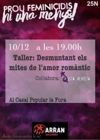 Arran Solsonès organitza un taller per desmuntar els mites de l'amor romàntic