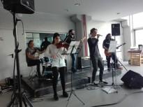 Vés a: Un alumne de tible de l'Escola Municipal de Música participa en la Cobla del Futur