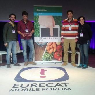 Dos ramaders del Solsonès guanyen el premi a la millor aplicació rural professional