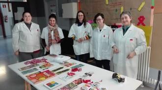 Alumnes de l'INS Tremp informen sobre la prevenció de la sida