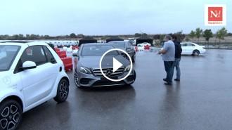 Vés a: VÍDEO Mercedes-Benz Classe E. PART 2, el cotxe que es pot aparcar a distància